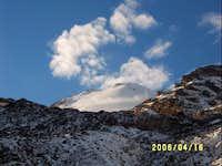 jamapa glacier from piedra...