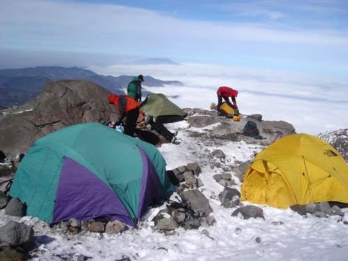 high camp on dicember 20 2004