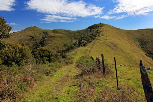 Three Peak northwest ridge