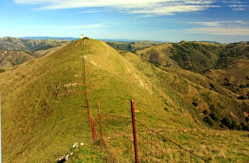 Three Peaks east view
