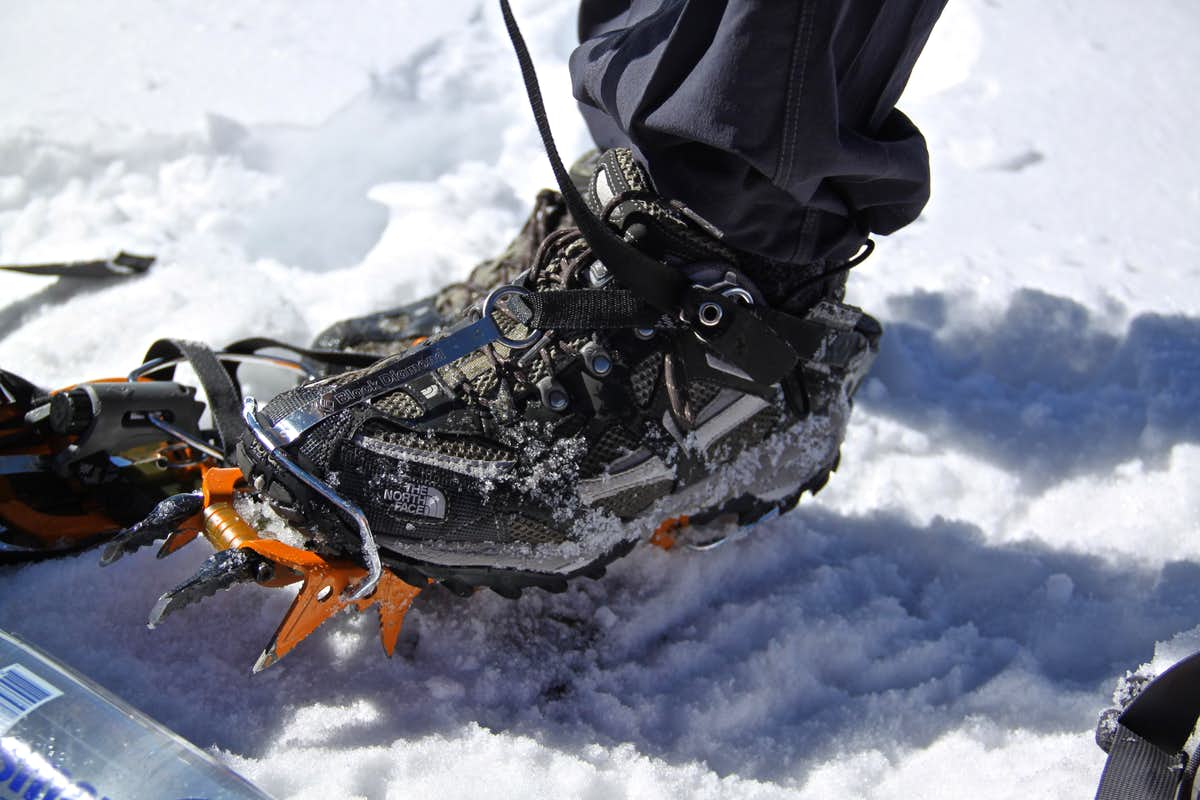 Please, don't forget ice climbing boots