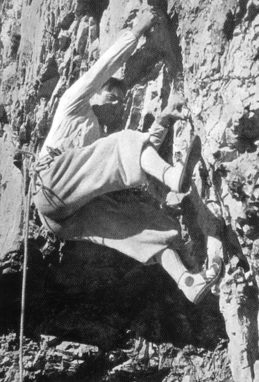 Emilio Comici and his climbing style