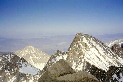 Mount Sill from the summit of...