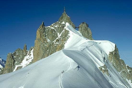 From the Midi-Plan Ridge.