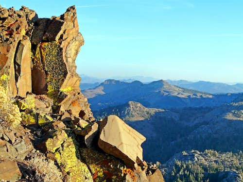 Southeast from Red Lake Peak