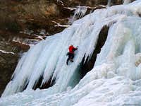 Alpenzù icefall, Gressoney