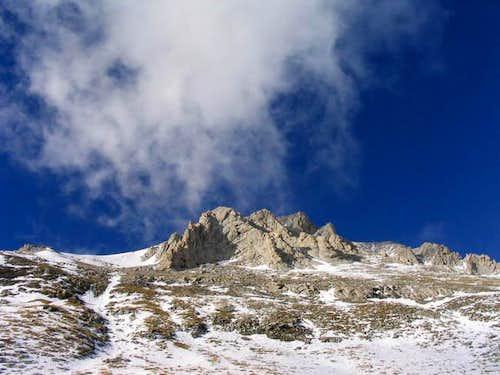 From Vihren hut to summit