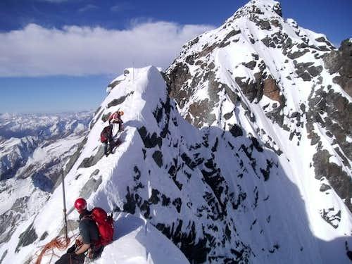Grossglockner (3798 m) Meletzki ridge