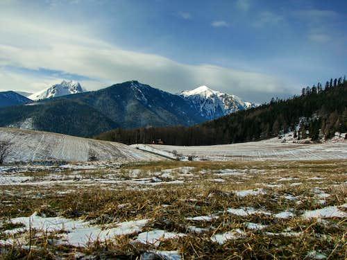 View from village Lendak