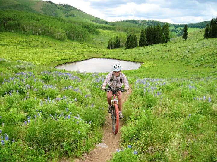 Backcountry Riding: 25 miles in