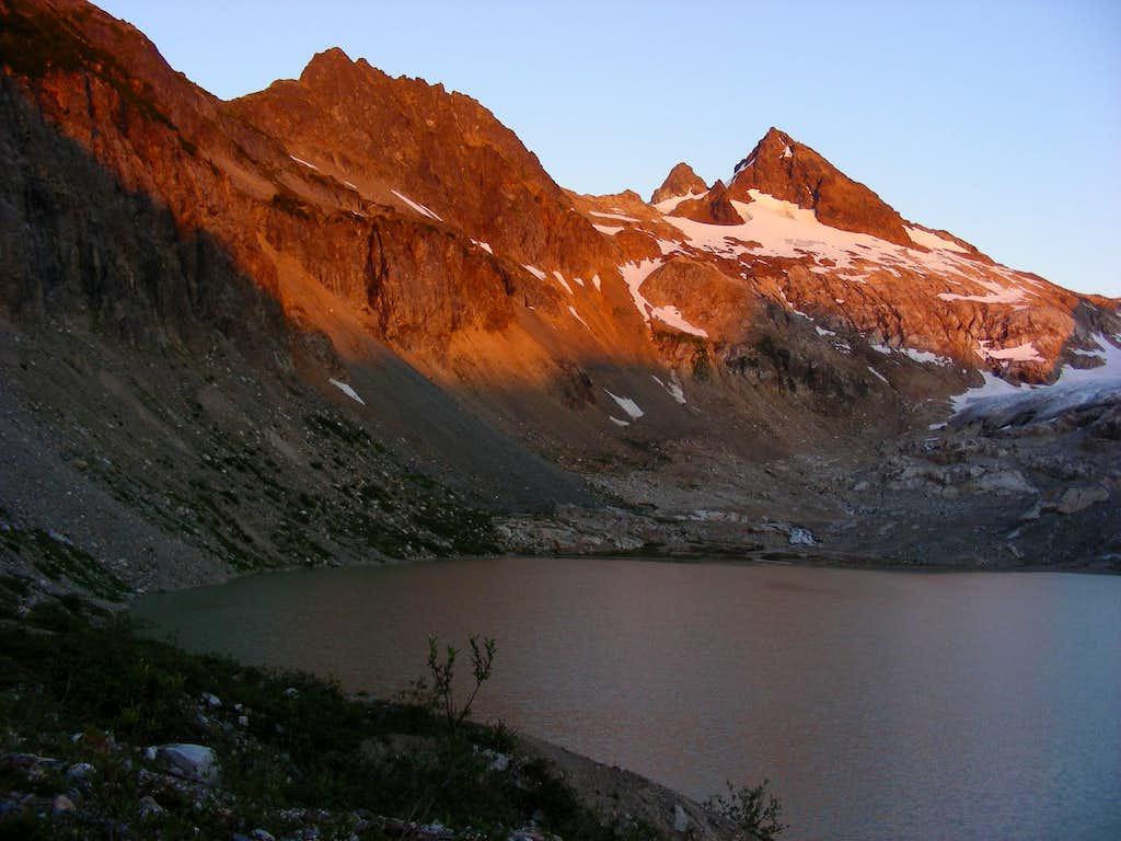 North shore South Cascade Lake