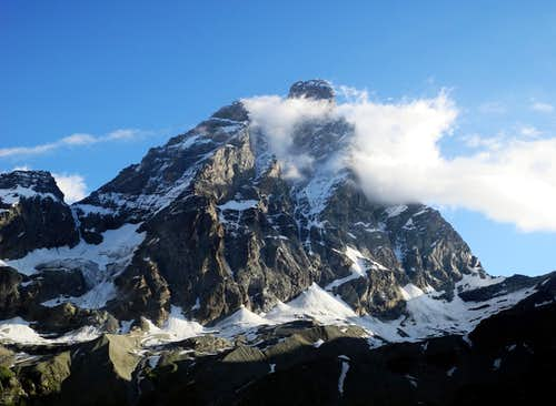 Cervino - Matterhorn from South (Breuil)