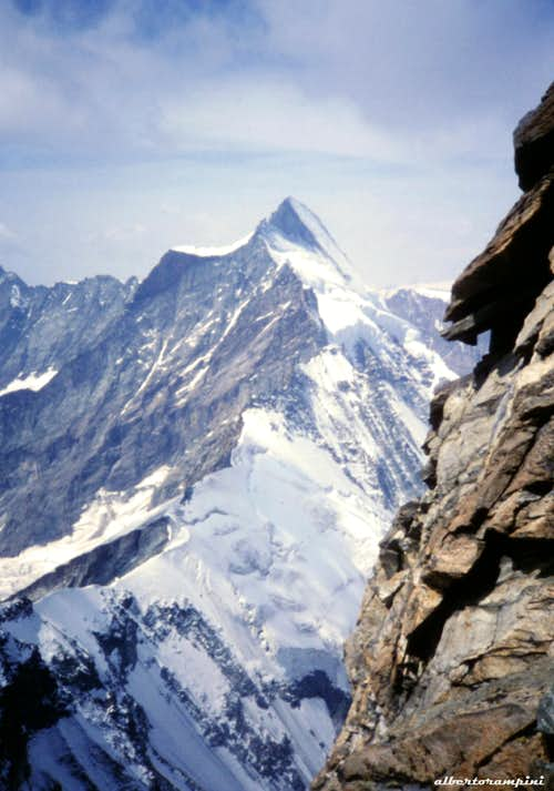 Dent d\'Herens from Cresta del Leone