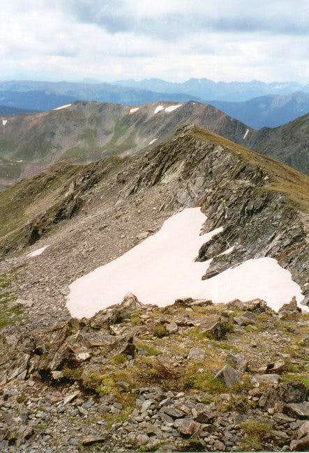 Byers/Bills Peak ridge from...