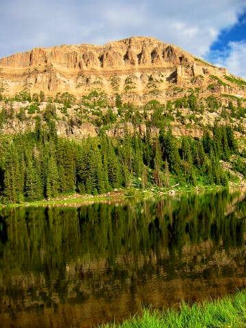 Bald Mountain from Moosehorn...