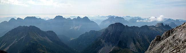 The Southern Carnic Alps...
