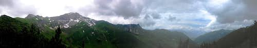 250° Panorama over the heart of Liechtenstein
