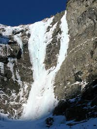 Ice climbing routes Mordor & Supervisor