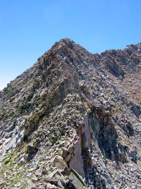 Approaching Chipman Peak...