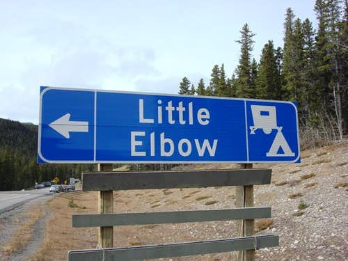 Little Elbow signage