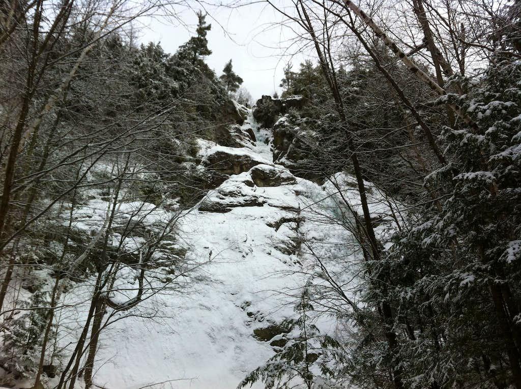 Roaring Brook Waterfall