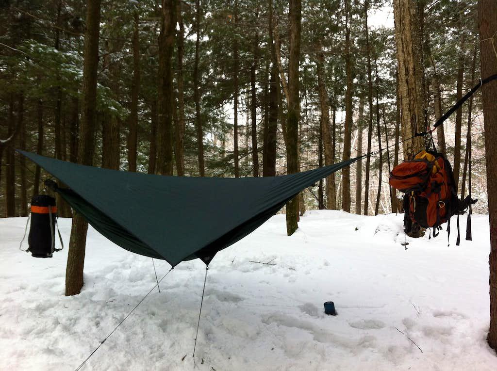 Trevor's hammock