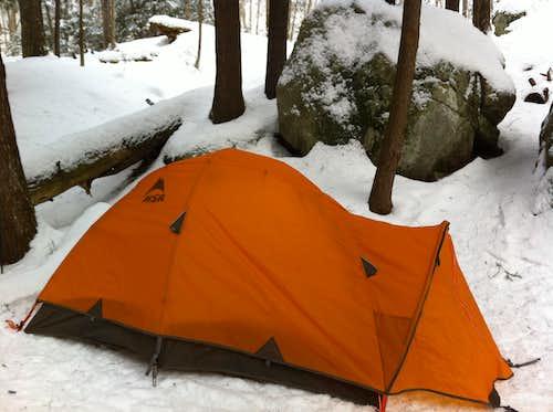 My Trusty tent!