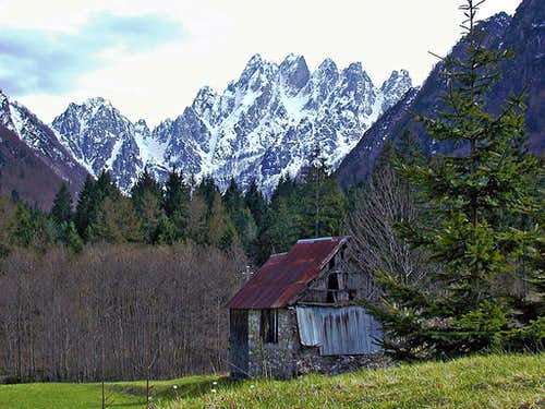 Zuc dal Bor group, seen from...