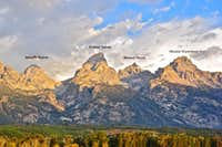 Grand Teton and neighbors