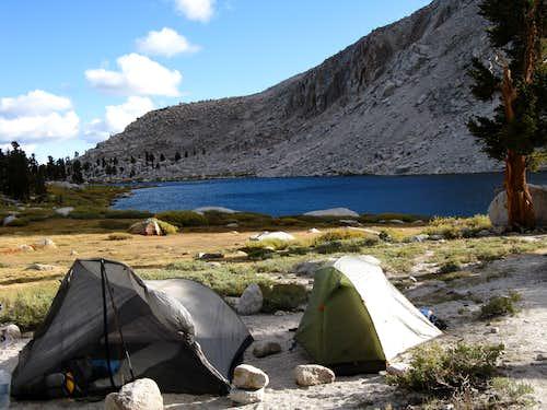 Cottonwood Lakes Camp Site