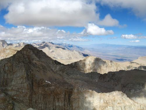 The Sierras East Side, Owens Valley & White Mountain Range