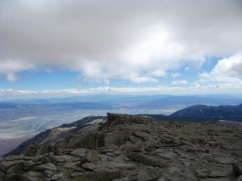 Mt. Langley Looking SE toward Owens Valley