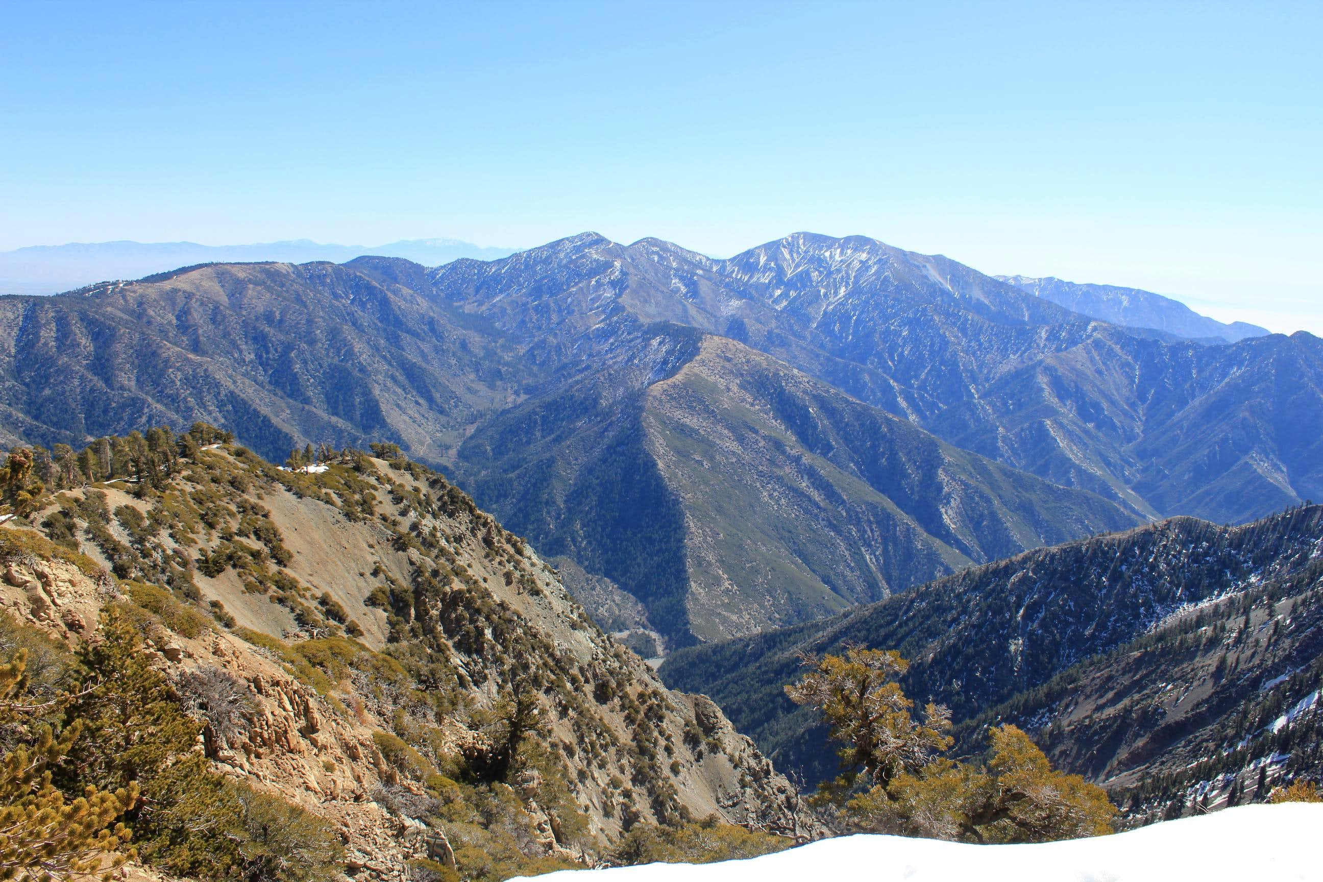 Iron Mountain to Mt. Baldy via San Antonio Ridge