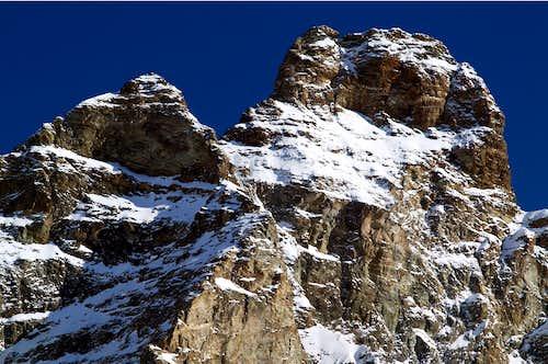 Cresta del Leone - Liongrat or SW Ridge