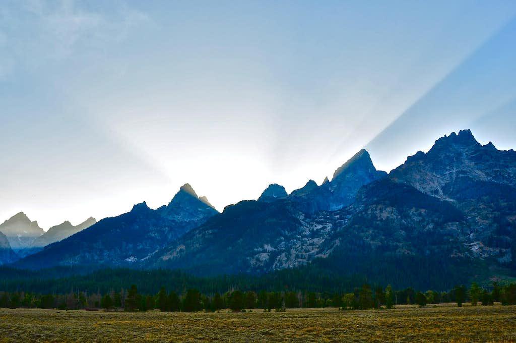 Grand Teton sunset...