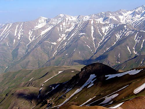 North Face of Paloon Gardan