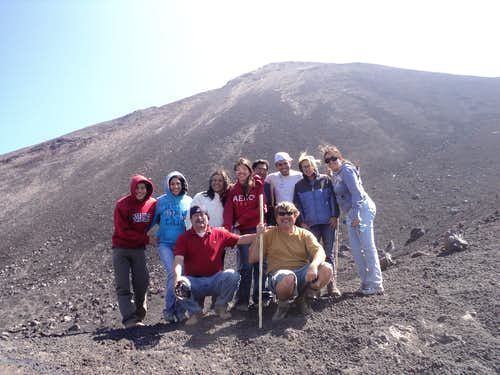 End of trail Vacaya Volcano
