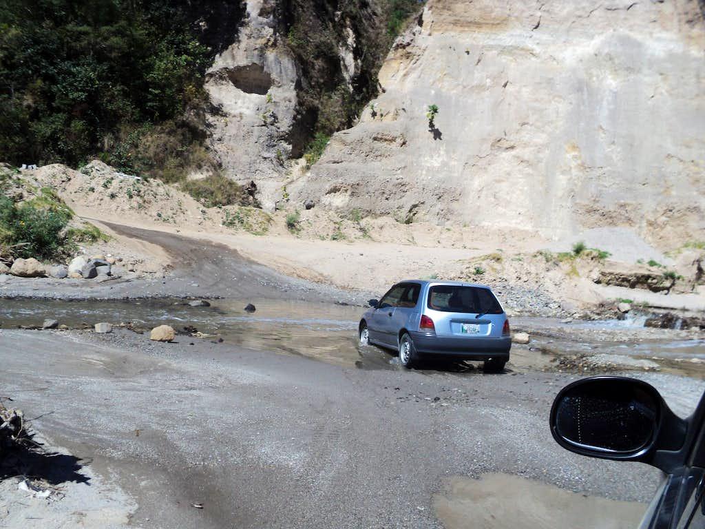 Tough Road Conditions Guatemala