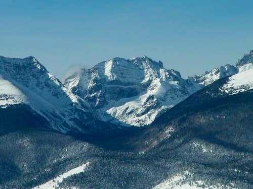 Broken Hand Peak viewed from...