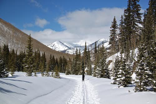 Ironton Ski trail
