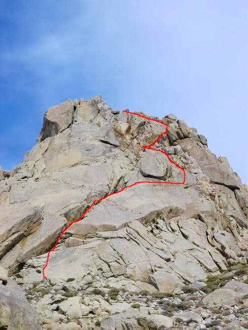 South face of the fifth finger