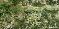 Mt Reba / Poison Canyon Routes