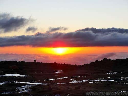 Las Veguitas sunset - 3.240m
