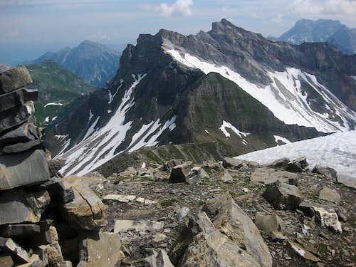 Naafkopf from high on Schwarzhorn