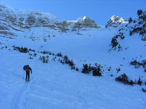Kreuzspitze Ski Route