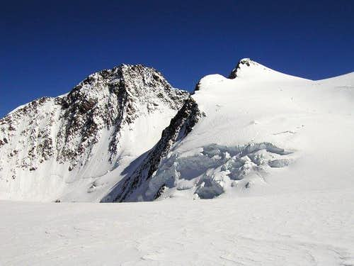 Dufourspitze and...