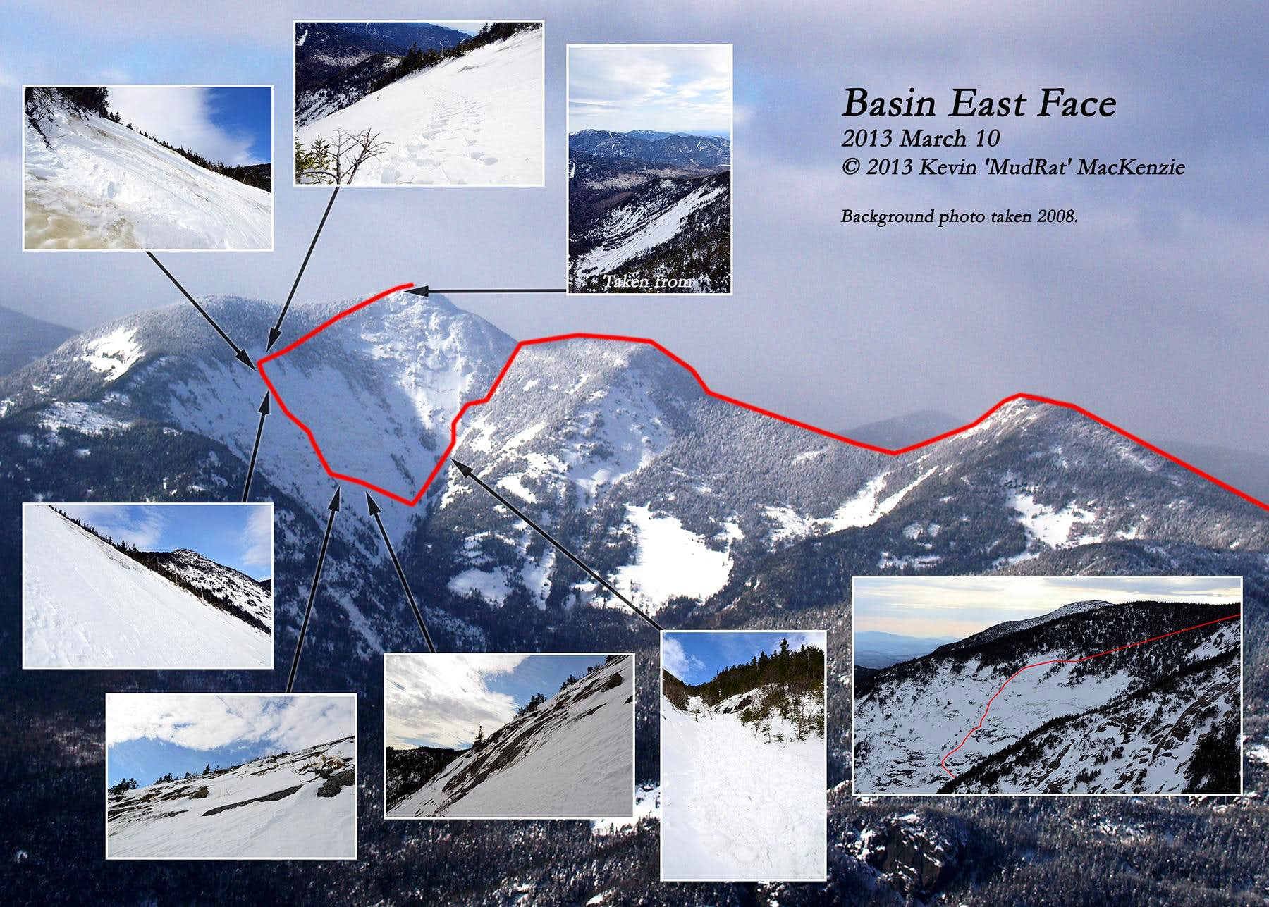 Basin Mountain East Face: Last Winter Climb of 2013