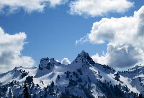 Pinnacle Peak, Tatoosh Range, Mount Rainier National Park