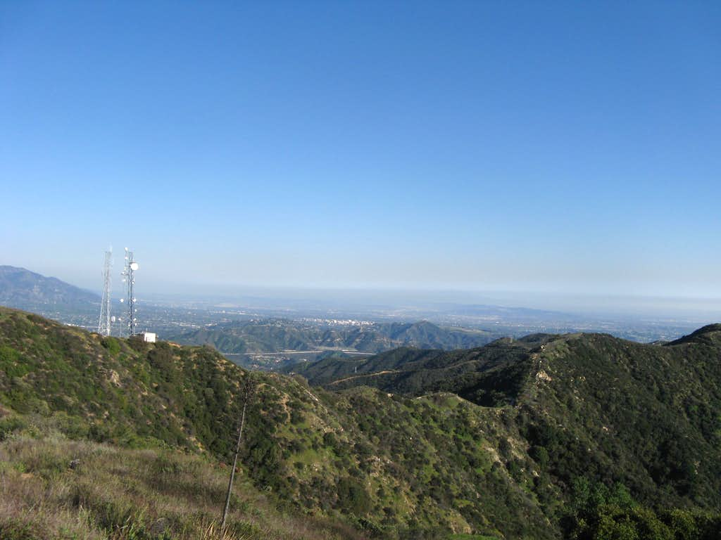 East from Summit of Verdugo Mountain
