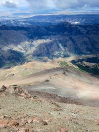 Cerro Ñireco Descent